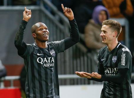 Musona scored the winner for KAS Eupen