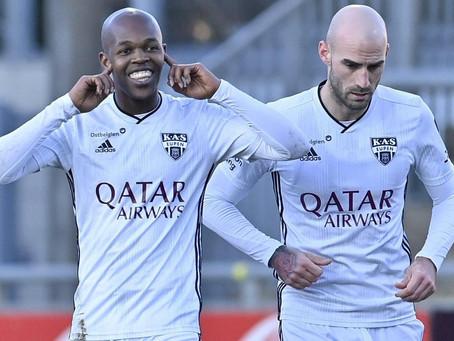 Amazing Musona for KAS Eupen with 2 goals (VIDEO)