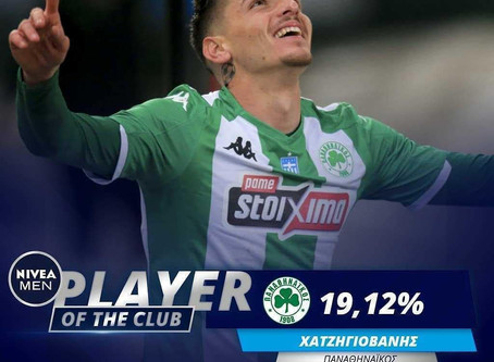 Chatzigovanis: Fans' Player of the Club 2019/20