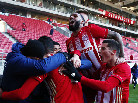 Vrousai made his impact for Olympiacos' victory in 25 minutes' playing time