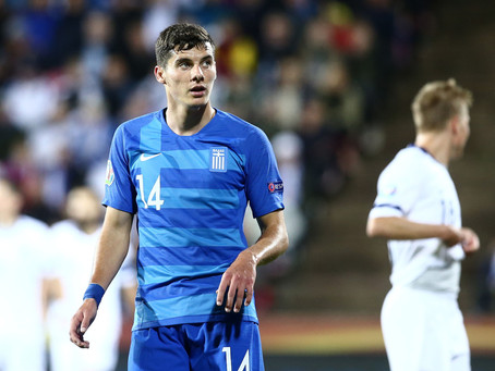Vrousai called-up for the Greece U-21 squad