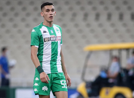First ever start in derby: Sotiris Alexandropoulos