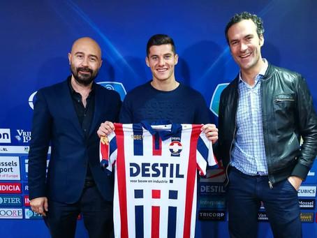 Marios Vrousai to Willem II