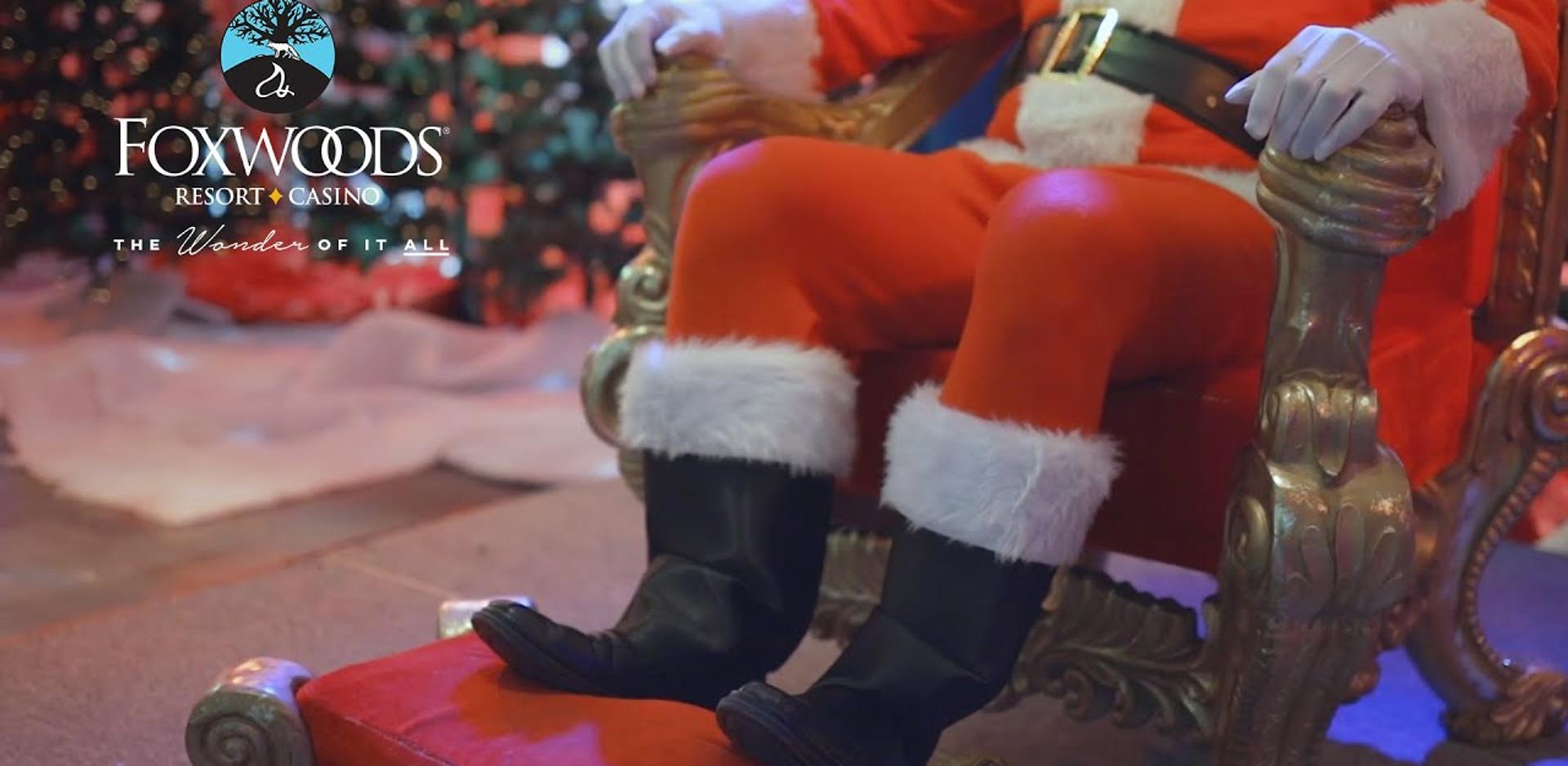 Santa comes to Foxwoods