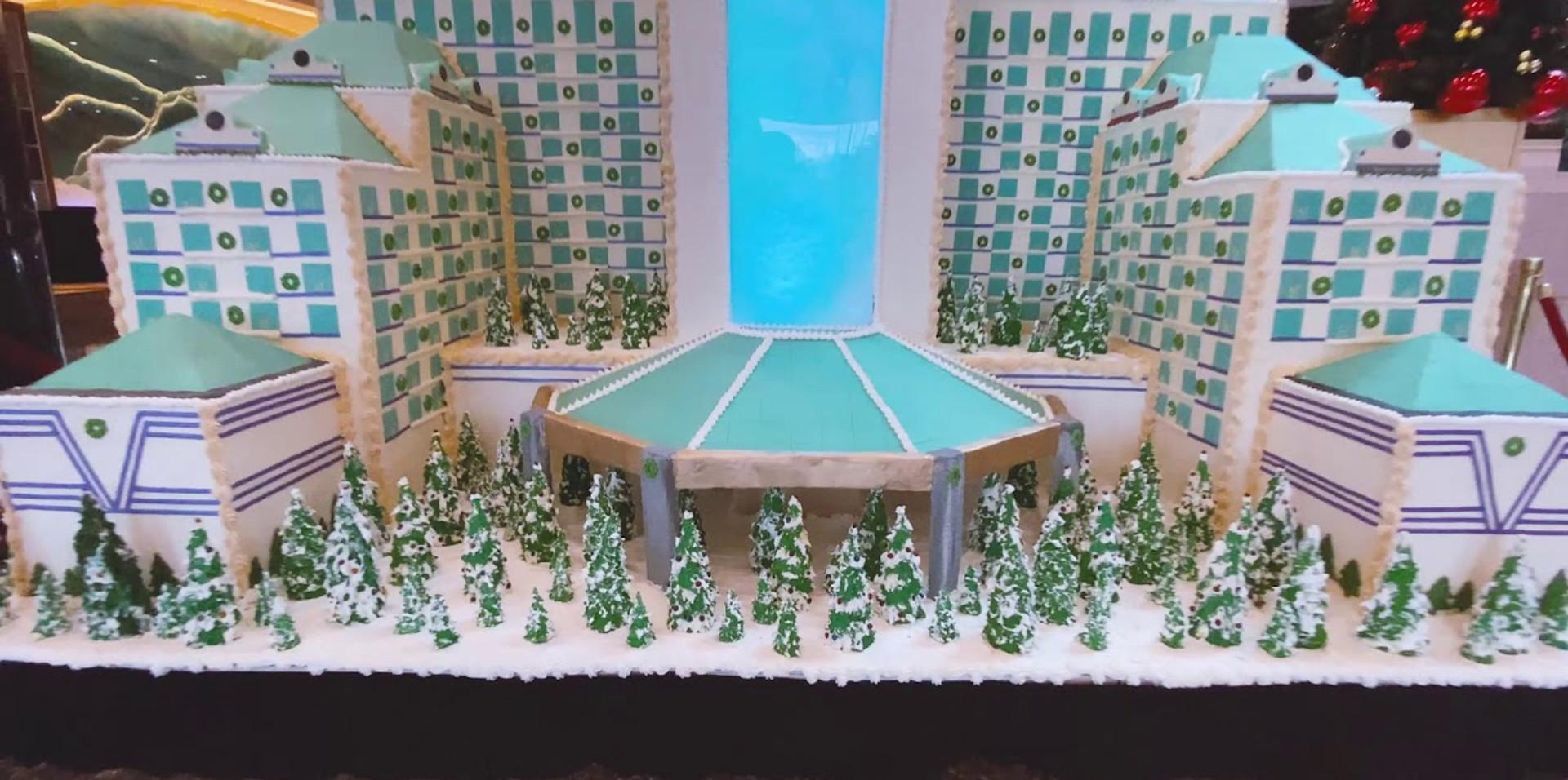 Gingerbread Houses Display