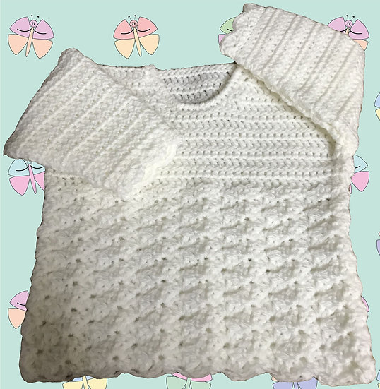 Very Nice Baby Crochet Pattern for DK Sweater (Sizes Birth-6 years) (1024)