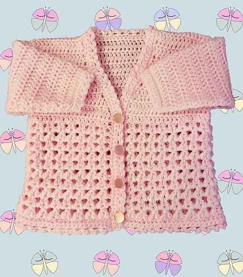'Bella' Crochet Pattern in DK for (3 Months - 4 years) (1055)