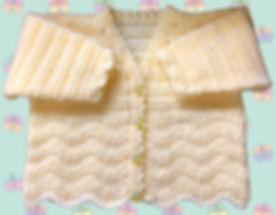 1041 chevron cardigan on butterfly backg