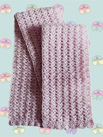 Crochet Pattern for Attractive Scarf in DK Yarn (1053)