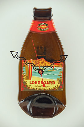 Kona Longboard Bottle Clock