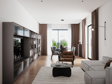 Living Area Quadrilocale +