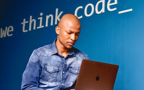 wethinkcode student studying curriculum