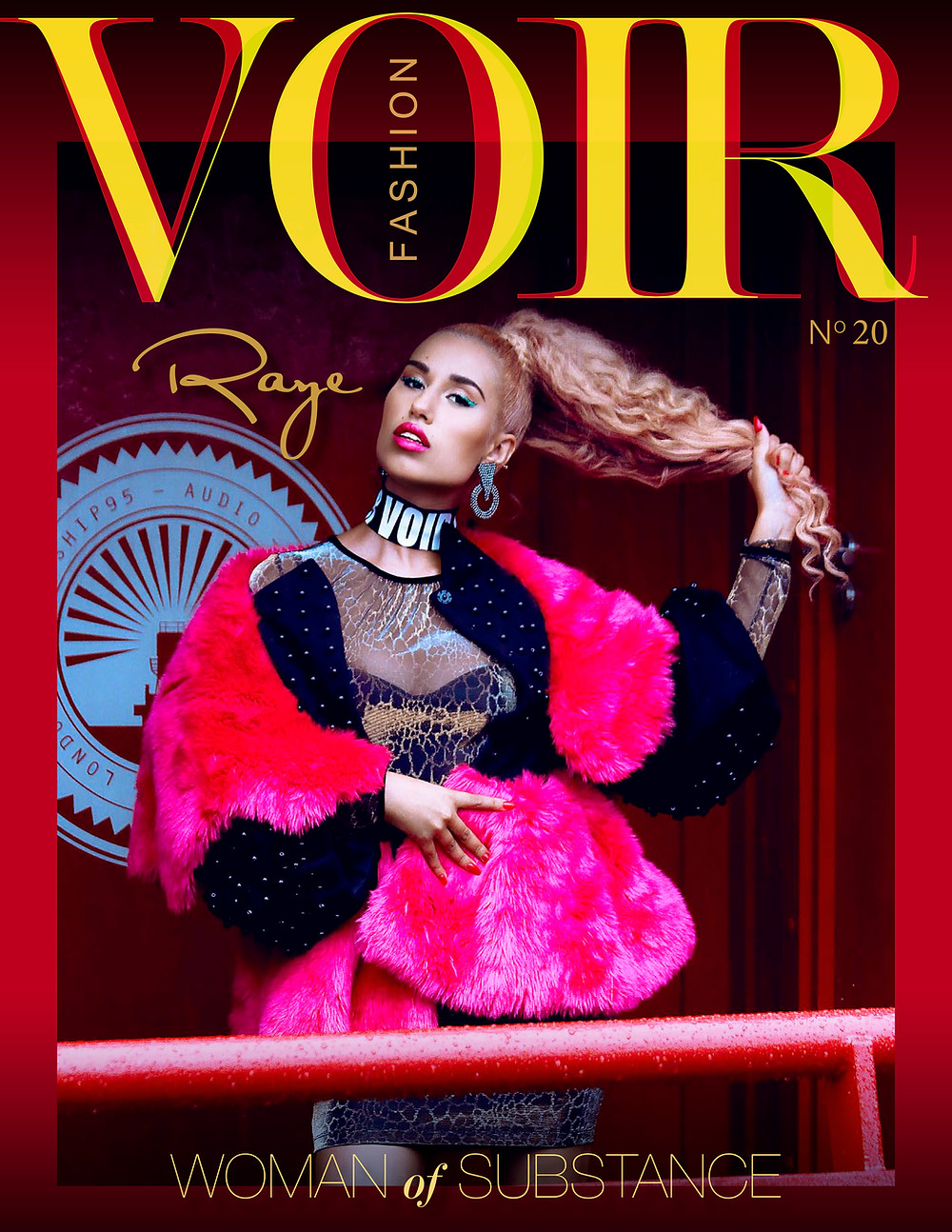 Raye - Voir Fashion Issue 20 Cover