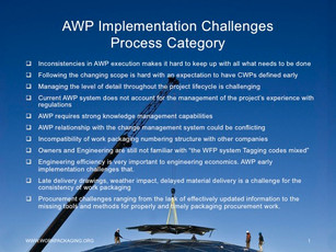 AWP Implementation Challenges
