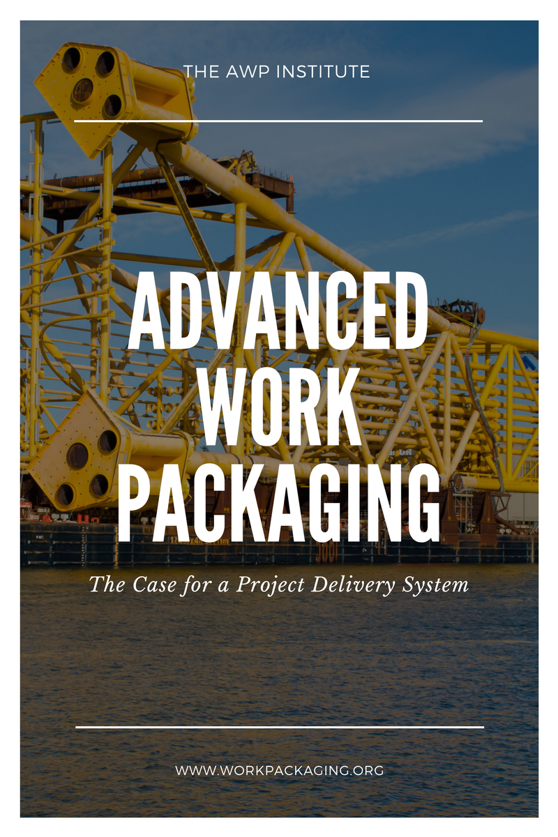 advanced work packaging planning system