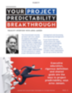 Velocity issue 7 predictability of capit