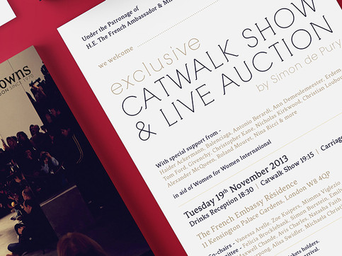 Catwalk Show & Auction