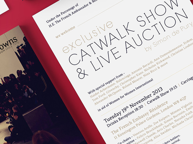 Catwalk Show & Auction