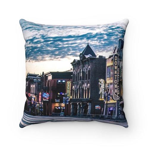 Nashville Spun Polyester Square Pillow