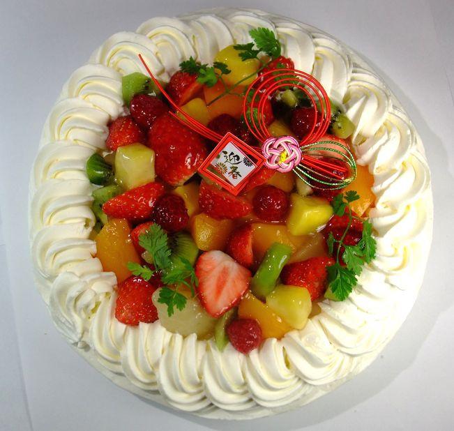 迎春ケーキ