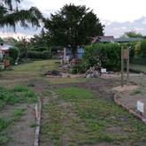 Blick in den Vereinsgarten am L-Weg