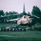 """Ein Mi-8 """"11"""" der 6. Armeefliegerstaffel.   ©Timm Ziegenthaler"""