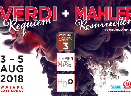 Be warmed by our WINTER Concert Weekend 3  — Verdi and Mahler