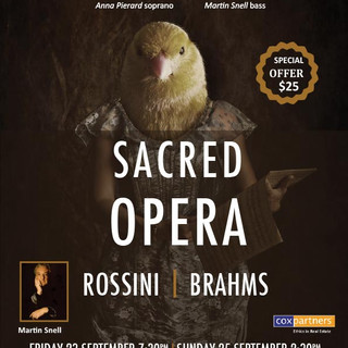 Sacred Opera - Rossini/Brahms - Choral 3