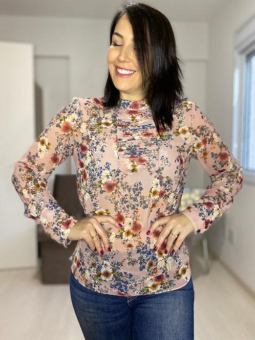 Camisa estilo romantica - Zara