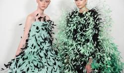 Plumas para vestidos de festa