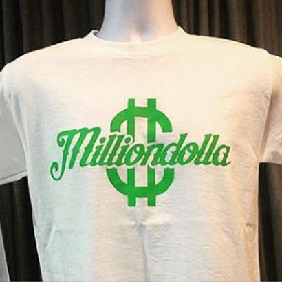 Green Milliondolla logo Tshirt