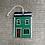 Thumbnail: #63 Jelly Bean Row House Christmas Ornament