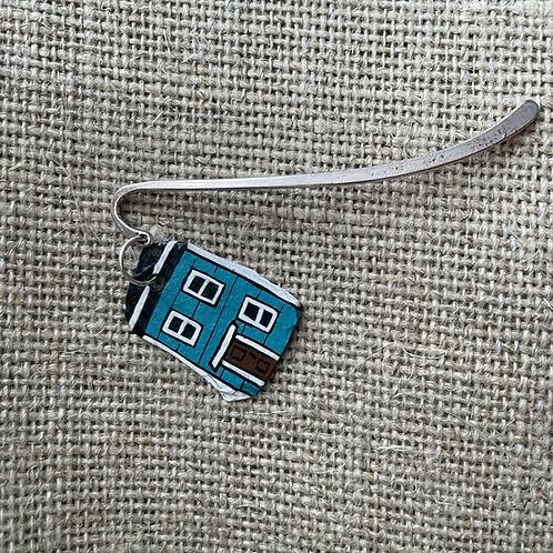 #63 Jelly Bean Row House Bookmark