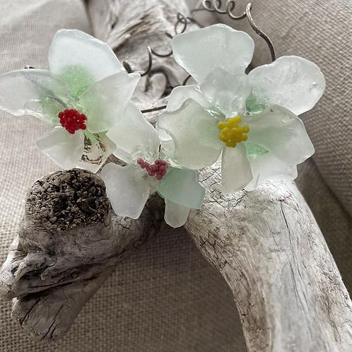 #43 Sea Glass Flowers