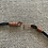 Thumbnail: # 30 Lamp work beads with leather necklace