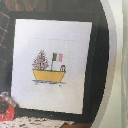 #103 Pattern Christmas Dory