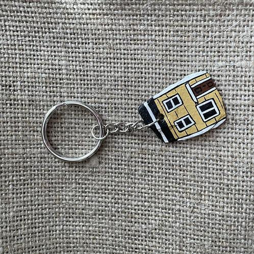 #63 Jelly Bean Row House Key Chain