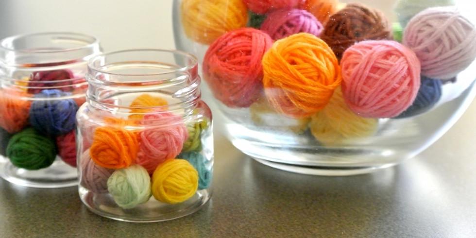 編み部 朝の会