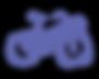 Framiras Bike - Purple Transparent Backg