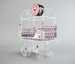 munch - candy cart