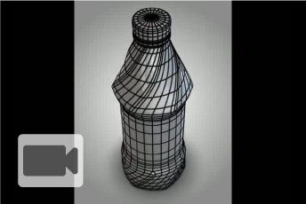 Delta - 3D Bottle