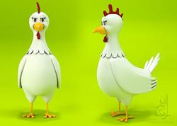 Chicken Character