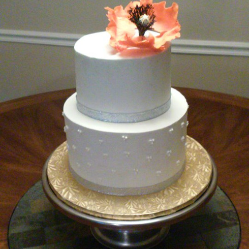 2 tier Buttercream Cake