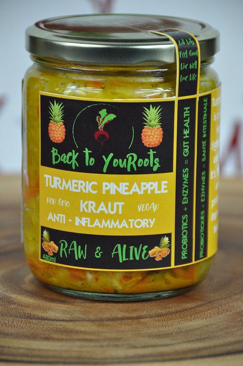 Turmeric Pineapple Kraut