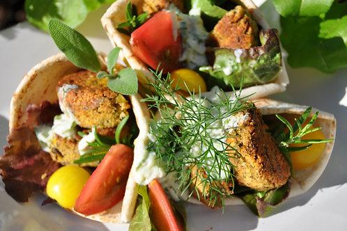 Quinoa & Kale Falafels