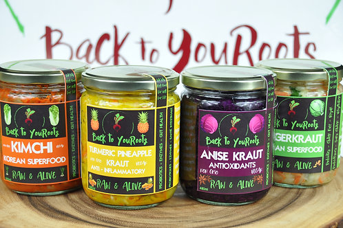 Back to YouRoots Mixed Kraut - 4 Pack