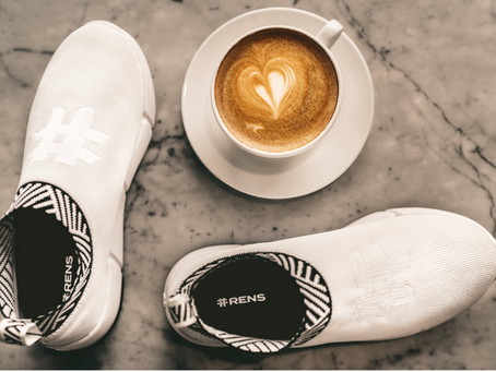 Your next pair of sneakers could be made from coffee!