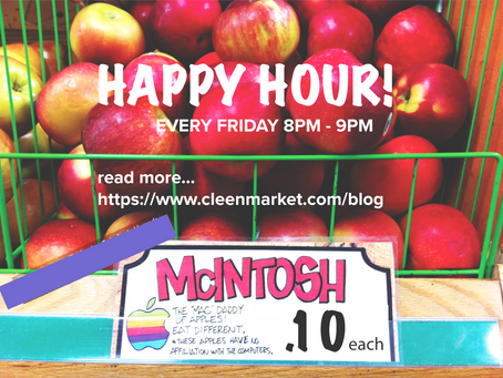 20cent, 50cent, $1.00 Who doesn't love FOOD HAPPY HOUR TO STOP FOOD WASTE?