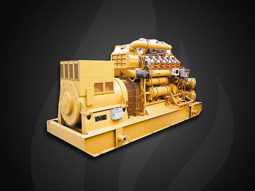 Modelo 127 - Gerador Industrial Jichai Gás (500~600KW)