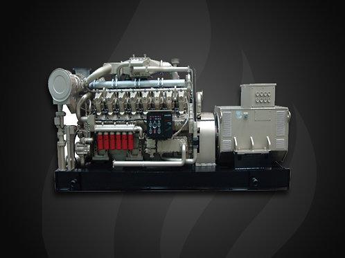 Modelo 6000 - Gerador Industrial Jichai Biogás (1100~1500KW)
